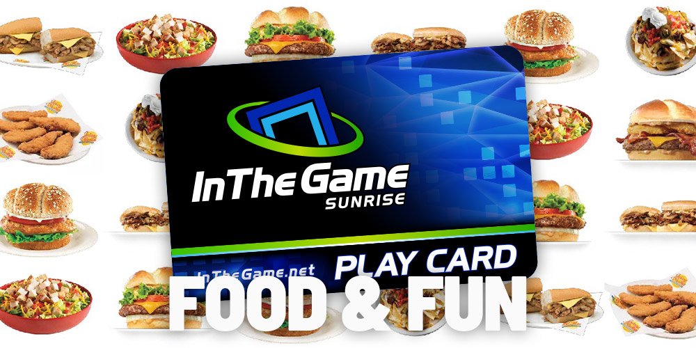 In The Game Food and Fun Combo