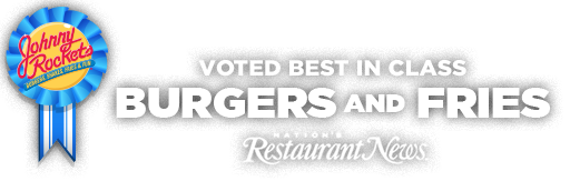 Johnny Rockets voted Best in Class burgers and fries